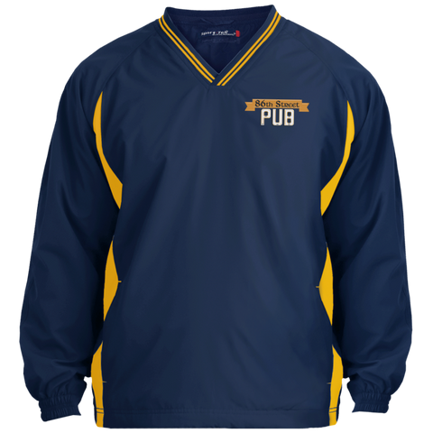86th Street Pub V-Neck Windshirt - MyMerch.us