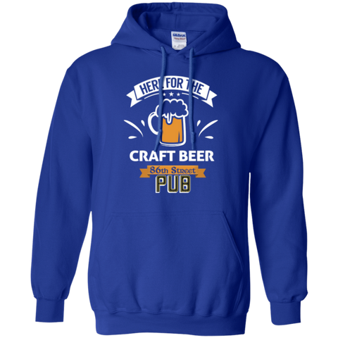 86th Street Pub Craft Beer Hoodie Royal / Small - MyMerch.us