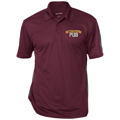 86th Street Pub Performance Polo Maroon/Gray / Medium - MyMerch.us
