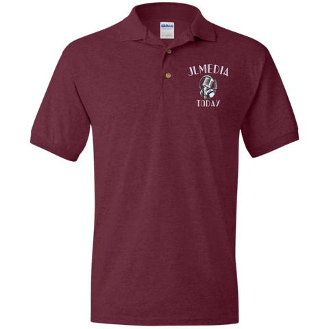 JL Media Today Polo Shirt Maroon / Small - MyMerch.us