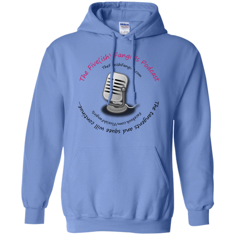 Fiveish Fangirls Hoodie Carolina Blue / Small - MyMerch.us