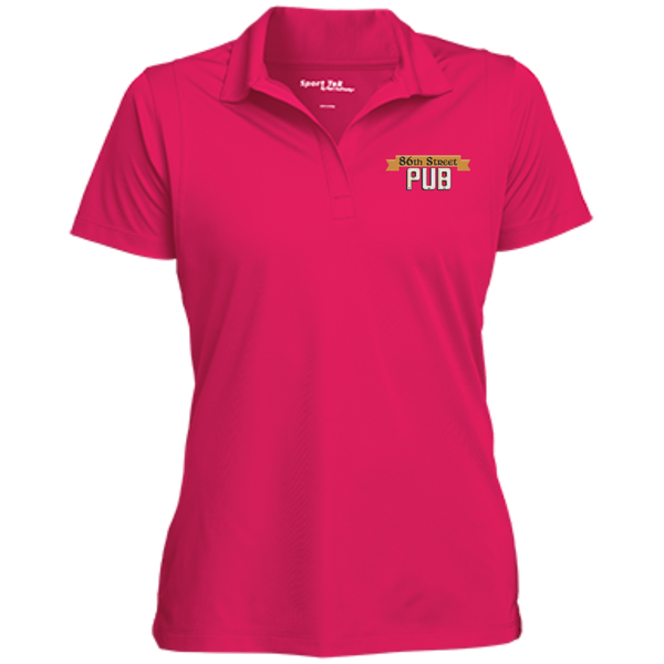 86th Street Pub Ladies' Polo Rasperry / Small - MyMerch.us