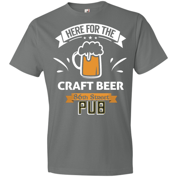 86th Street Pub Craft Beer T-Shirt Storm Grey / Medium - MyMerch.us