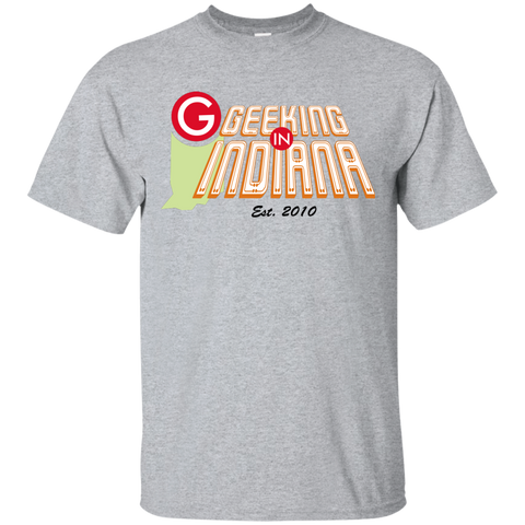 Geeking in Indiana T-Shirt Sport Grey / Small - MyMerch.us