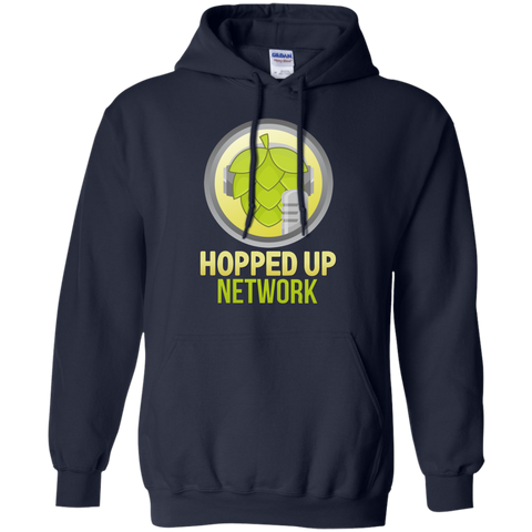 Hopped Up Network Hoodie Navy / Small - MyMerch.us