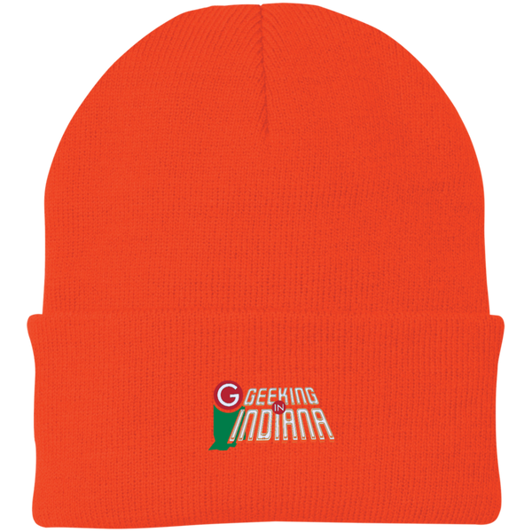 Geeking in Indiana Knit Hat  - MyMerch.us