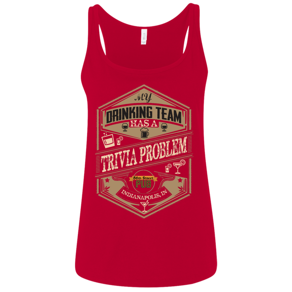 86th Street Pub Trivia Ladies' Relaxed Tank - MyMerch.us