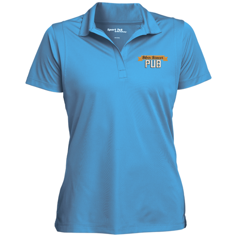 86th Street Pub Ladies' Polo Blue Lake / Small - MyMerch.us