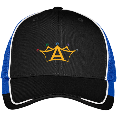 Anabolix Skate Mesh Back Cap Black/True Royal - MyMerch.us