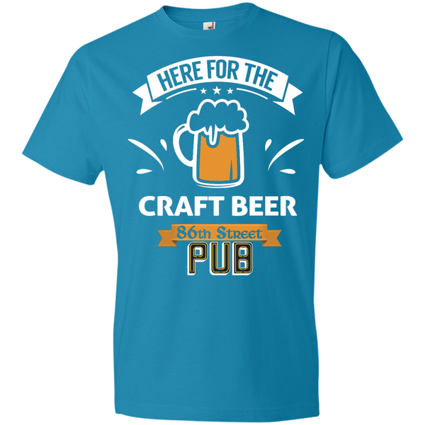 86th Street Pub Craft Beer T-Shirt Columbia Blue / Medium - MyMerch.us