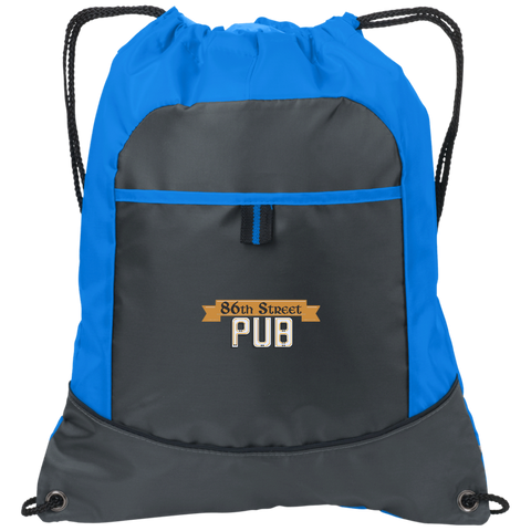 86th Street Pub Pocket Cinch Pack - MyMerch.us