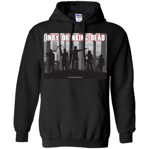Indy Drinking Dead Podcast Hoodie Black / Small - MyMerch.us