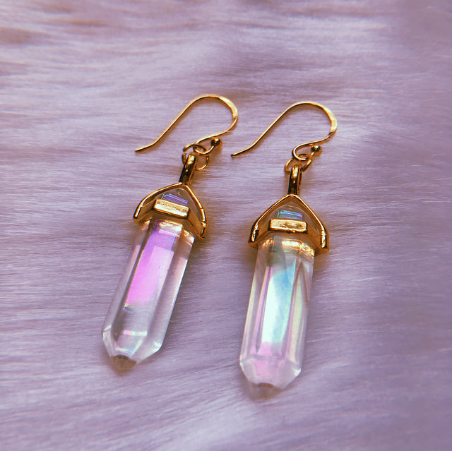 Angel Aura Point Earrings