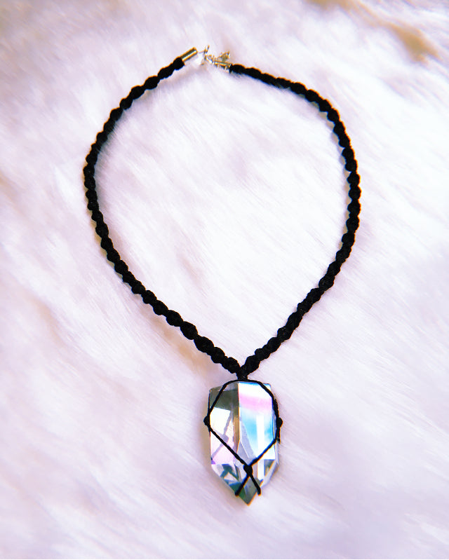 Angel Aura Quartz Choker