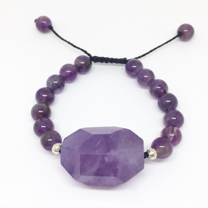 Amethyst Protection Bracelet - Lost Cosmos