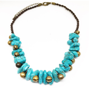 Artemis Turquoise Choker - Lost Cosmos