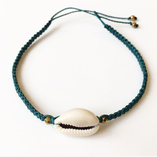Cowrie Shell Anklet - Lost Cosmos