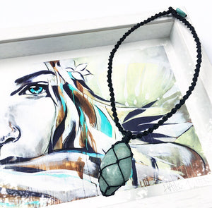 Amazonite Warrior Choker