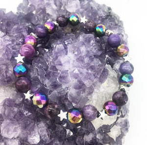 Calm and Sparkle Bracelet