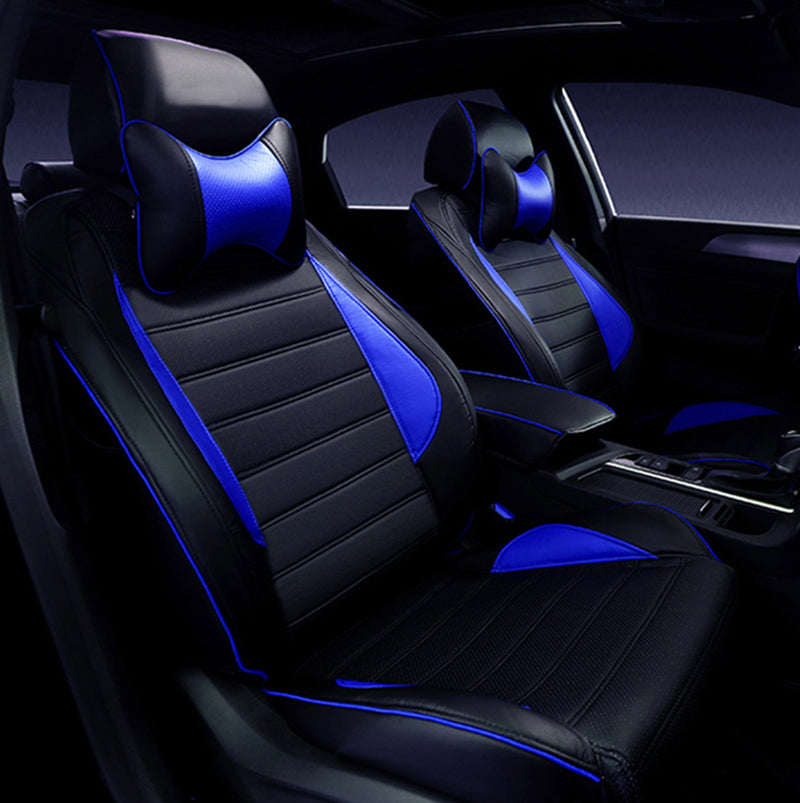 Custom Leather Car Seat Covers For Honda Accord FIT CITY CR V XR V