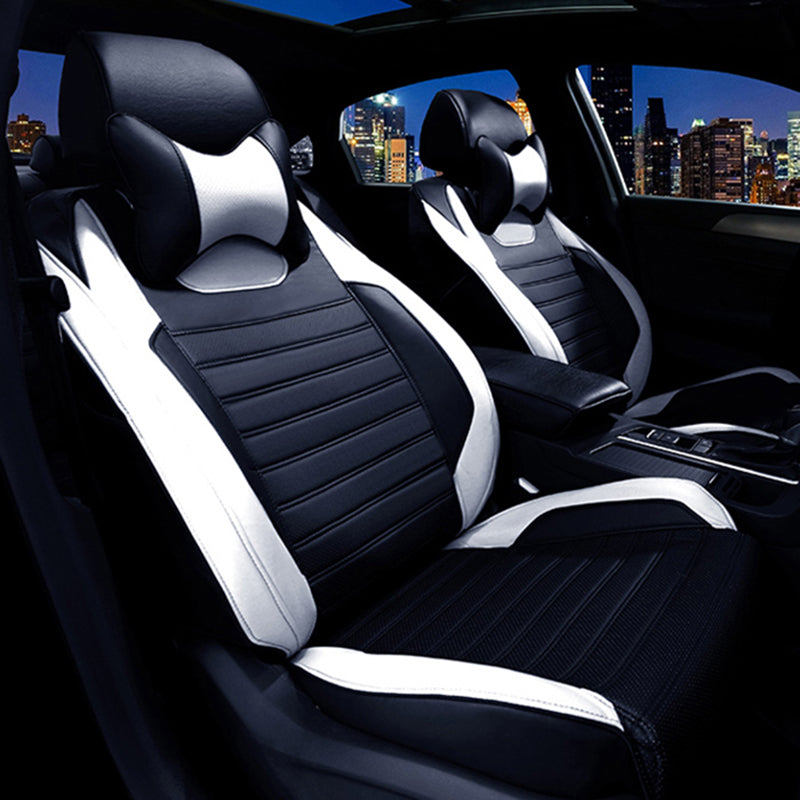 ... Custom Leather Car Seat Covers For Honda Accord FIT CITY CR V XR V ...
