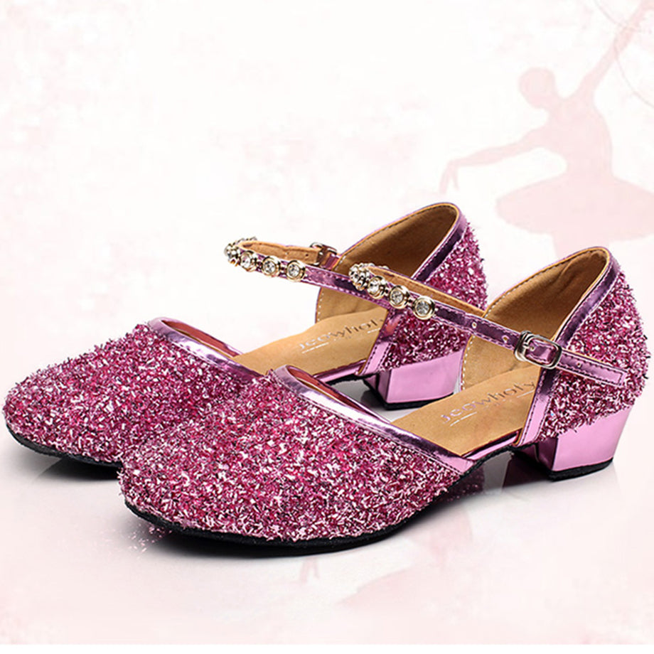 Weonedream Pink Girls Shoes 2018 Lovely Pu Leather Bow Flower Girl