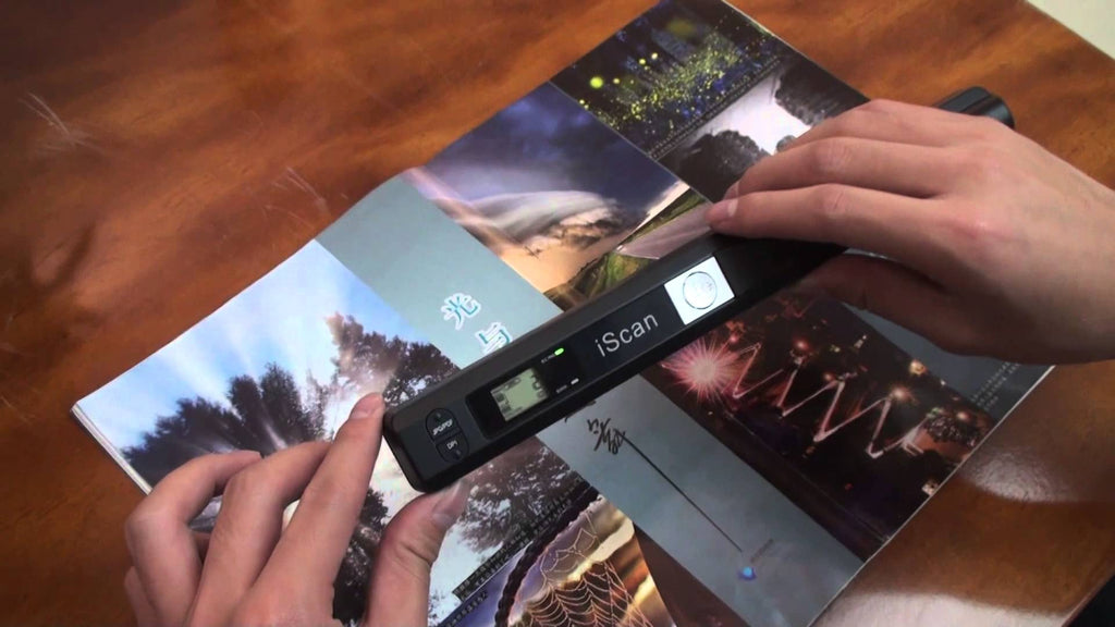 Portable Book Scanner for Students