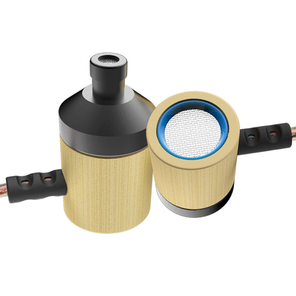 Bamboo Earphones with Microphone