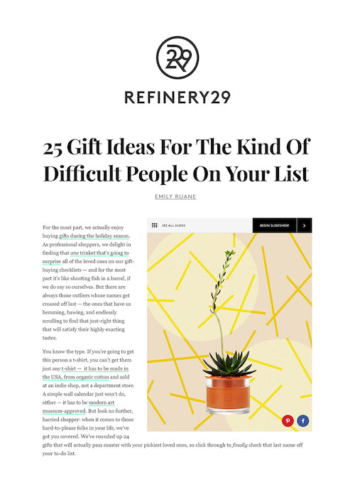 Grammar on Refinery 29- December 2019