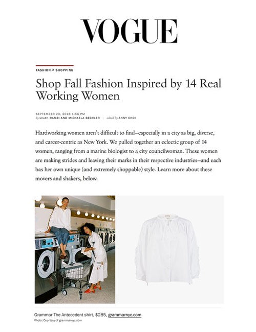 Vogue.com - September 20th, 2018
