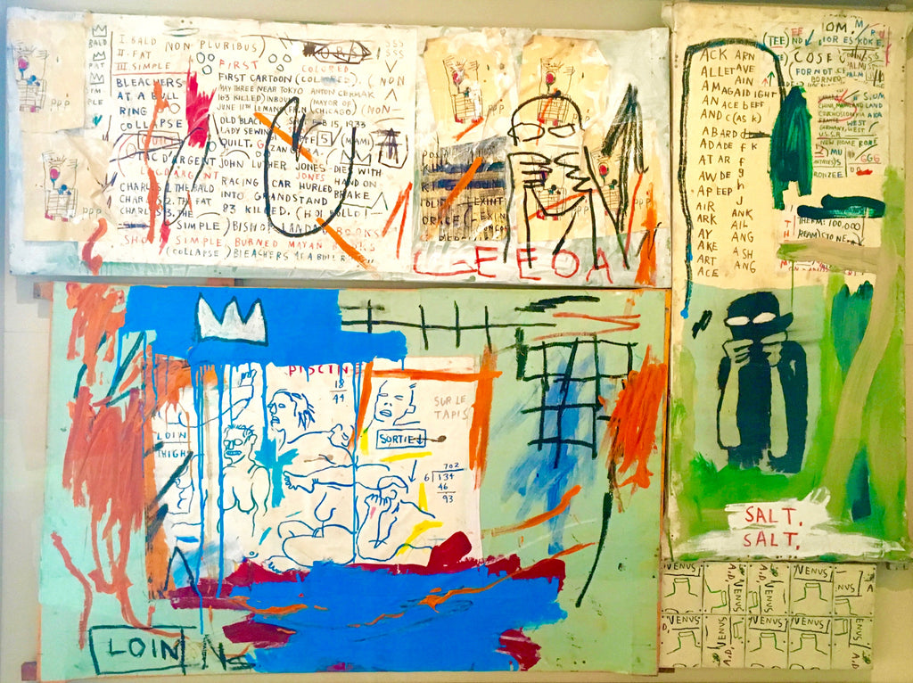 Piscine Versus the Best Hotels (or Various Loin) Jean-Michel Basquiat