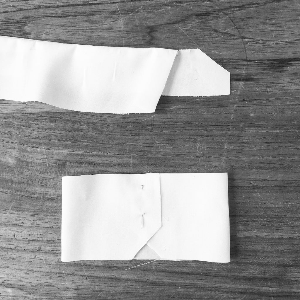 Prototype of collar and cuff