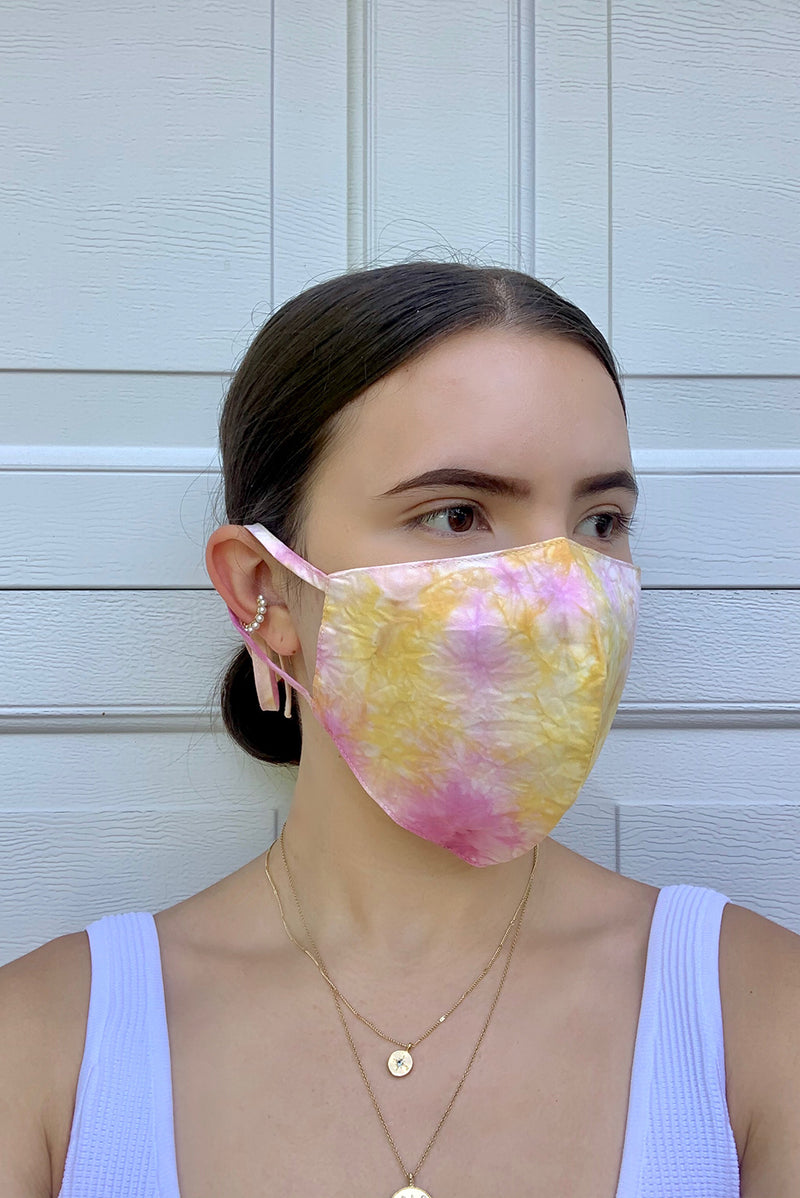 Naturally-dyed Face Mask