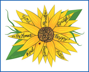 """Simply Be"" (Sunflower)"