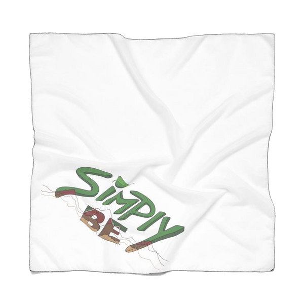 """Simply Be"" (Mountains) Doggie Bandana"
