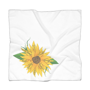 """Simply Be"" (Sunflower) Doggie Bandana"