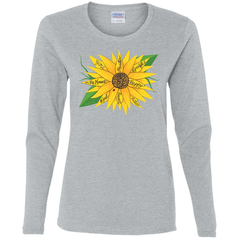 """Simply Be"" (Sunflower) Ladies' Long Sleeve Tee-Shirt"