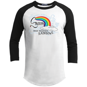 """Spectrums Make Beautiful Rainbows"" Youth Sporty Tee-Shirt"