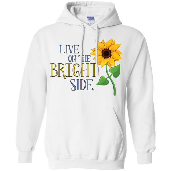 """Live on the Bright Side"" Mens' Hoodie"