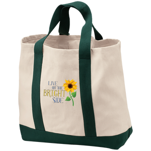 """Live on the Bright Side"" Tote"