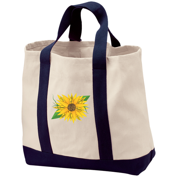 """Simply Be"" (Sunflower) Tote"