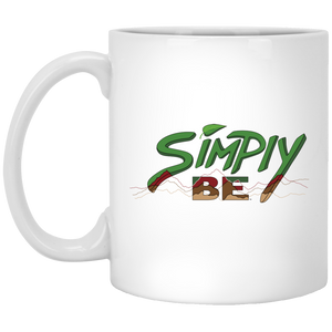 """Simply Be"" (Mountains) Coffee Mug"