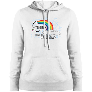 """Spectrums Make Beautiful Rainbows"" Ladies' Hoodie"