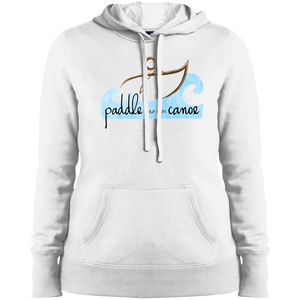 """Paddle Your Own Canoe"" Ladies' Hoodie"