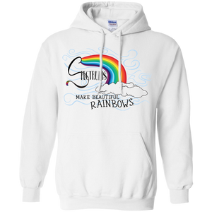 """Spectrums Make Beautiful Rainbows"" Mens' Hoodie"
