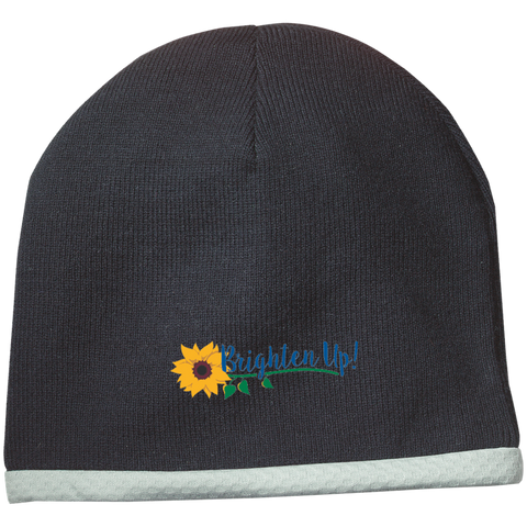 """Brighten Up!"" Knit Beanie"