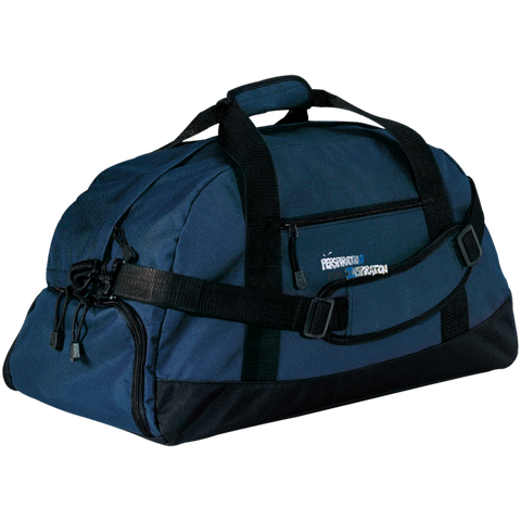 """Perspiration for Inspiration"" Large Duffel Bag"