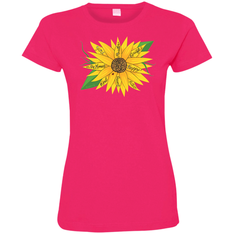 """Simply Be"" (Sunflower) Ladies' Tee-Shirt"
