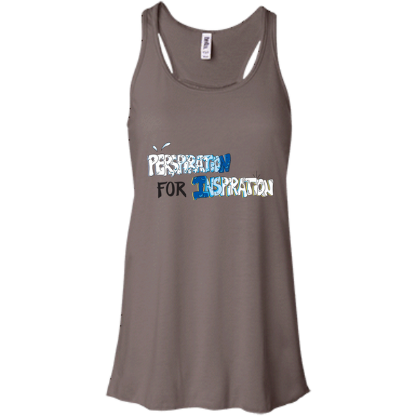 """Perspiration for Inspiration"" Ladies' Racerback Tank"