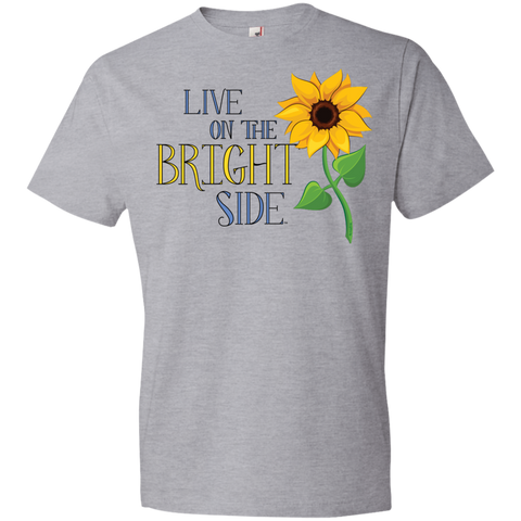 """Live on the Bright Side"" Mens' Tee-Shirt"